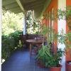 Ferienhaus Hoerbranz Terrasse